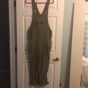 Free People Overalls size small